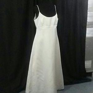 Alfred Angelo White Satin Wedding Dress